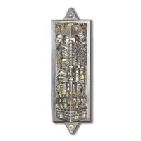 Raphael Abecassis Sterling Silver Electroform Mezuzah at PristineAuction.com