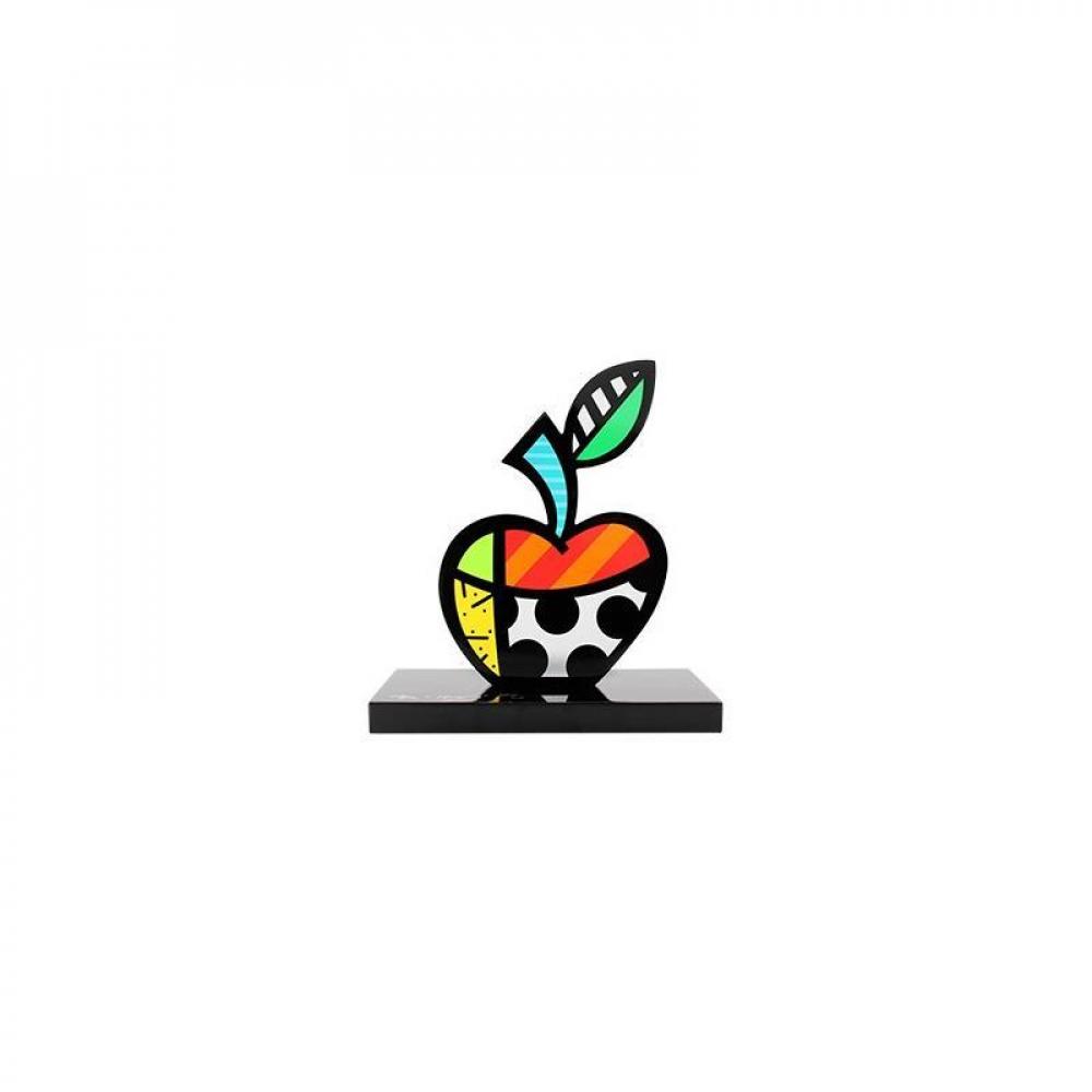 "Romero Britto Signed ""Big Apple II"" Limited Edition 9x8x4 Sculpture at PristineAuction.com"