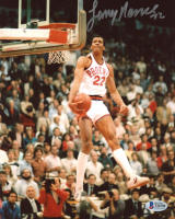 Larry Nance Signed Suns 8x10 Photo (Beckett COA) at PristineAuction.com