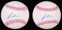 Lot of (2) Francis Martes Signed OML Baseballs (SidsGraphs COA) at PristineAuction.com