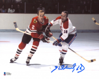 Henri Richard Signed Canadiens 8x10 Photo (Beckett COA) at PristineAuction.com