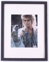"David Bowie Signed ""Labyrinth"" 13x17 Custom Framed Photo Display (PSA COA) at PristineAuction.com"