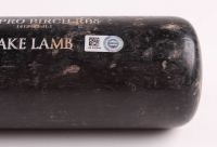 "Jake Lamb Signed Game Used Old Hickory Baseball Bat Inscribed ""Game Used"" (MLB Hologram) at PristineAuction.com"