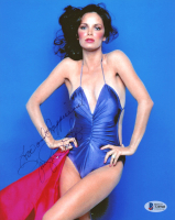"""Jaclyn Smith Signed 8x10 Photo Inscribed """"Love and Happiness"""" (Beckett COA) at PristineAuction.com"""
