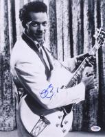 Chuck Berry Signed 11x14 Photo (PSA COA) at PristineAuction.com