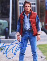 "Michael J. Fox Signed ""Back to the Future"" 11x14 Photo (Beckett COA) at PristineAuction.com"