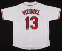 "Omar Vizquel Signed Jersey Inscribed ""11x GG"" (JSA COA) at PristineAuction.com"