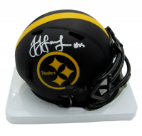 JuJu Smith-Schuster Signed Steelers Eclipse Alternate Speed Mini Helmet (Beckett COA) at PristineAuction.com