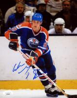Wayne Gretzky Signed Oilers 8x10 Photo (JSA COA) at PristineAuction.com