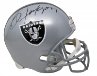 Bo Jackson Signed Raiders Full-Size Helmet (Beckett COA) at PristineAuction.com