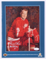 "Gordie Howe Signed Upper Deck Birthday Tour Program Inscribed ""Mr. Hockey"" (JSA COA) at PristineAuction.com"