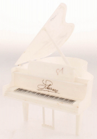 Lot of (2) Liberace Items With Signed Piano Prop With Sketch & Vintage Program (JSA COA) at PristineAuction.com