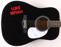 "Luke Bryan Signed 41"" Acoustic Guitar (Beckett COA) at PristineAuction.com"