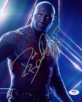 """Dave Bautista Signed """"Guardians Of The Galaxy"""" 8x10 Photo Inscribed """"Drax"""" (PSA Hologram) at PristineAuction.com"""