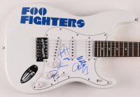 "Foo Fighters 39"" Electric Guitar Signed By (5) With Dave Grohl, Taylor Hawkins, Chris Shiftlett, Nate Mendel & Pat Smear (Beckett LOA) at PristineAuction.com"