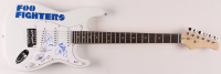 """Foo Fighters 39"""" Electric Guitar Signed By (5) With Dave Grohl, Taylor Hawkins, Chris Shiftlett, Nate Mendel & Pat Smear (Beckett LOA) at PristineAuction.com"""