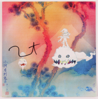 """Kanye West Signed """"Kids See Ghosts"""" Vinyl Record Album Cover (JSA COA) at PristineAuction.com"""