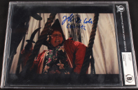 """Jeff Cohen Signed """"The Goonies"""" 8x10 Photo Inscribed """"Chunk"""" (BGS Encapsulated) at PristineAuction.com"""