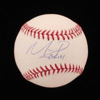 Mauricio Dubon Signed OML Baseball With Inscription (Beckett Hologram) at PristineAuction.com