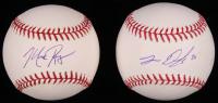 Lot of (2) Signed OML Baseballs with Mark Rogers & John Danks (SidsGraphs COA) at PristineAuction.com