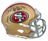 Jerry Rice Signed 49ers Speed Mini Helmet (Beckett COA) at PristineAuction.com