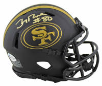 Jerry Rice Signed 49ers Eclipse Alternate Speed Mini Helmet (Beckett COA) at PristineAuction.com