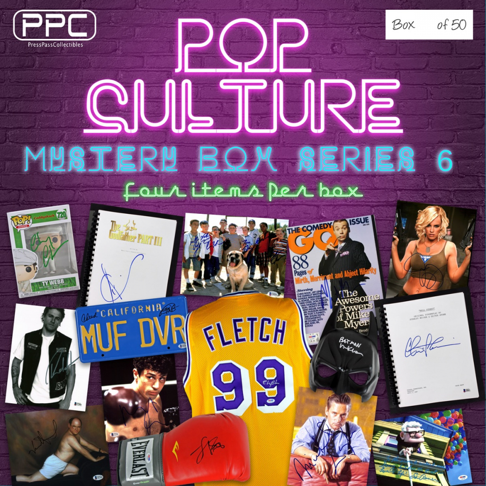 Press Pass Collectibles Pop Culture Mystery Box – Series 6 (Limited to 50) at PristineAuction.com
