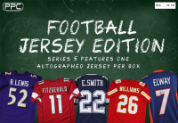 Press Pass Collectibles 2020 Football Jersey Mystery Box – Series 1 (Limited to 50) at PristineAuction.com