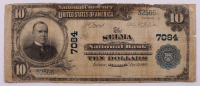 1902 $10 Ten-Dollar U.S. National Currency Large-Size Bank Note - The Selma National Bank of Selma, Alabama at PristineAuction.com