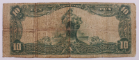 1902 $10 Ten-Dollar U.S. National Currency Large-Size Bank Note - The National Park Bank of New York, New York at PristineAuction.com