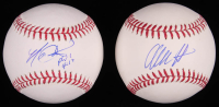 Lot of (2) Signed OML Baseballs with Kaleb Cowart & Alec Hansen (SidsGraphs COA) at PristineAuction.com