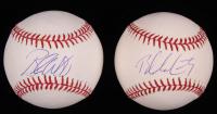 Lot of (2) Signed OML Baseballs with Brandon Webb & Brandon McCarthy (SidsGraphs COA) at PristineAuction.com