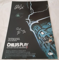 "Alex Vincent & Ed Gale Signed ""Child's Play"" 11x17 Photo Inscribed ""Andy"" & ""Chucky"" (Beckett COA) at PristineAuction.com"
