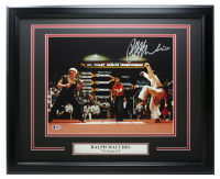 "Ralph Macchio Signed ""The Karate Kid"" 22x27 Custom Framed Photo Display (Beckett COA) at PristineAuction.com"
