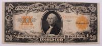 1922 $20 Twenty-Dollar U.S. Gold Certificate Large-Size Bank Note at PristineAuction.com