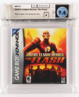 """2006 """"Justice League Heroes: The Flash"""" Game Boy Video Game (Wata Certified 9.4) at PristineAuction.com"""