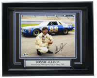 Donnie Allison Signed 11x14 Custom Framed Photo Display (Beckett COA) at PristineAuction.com
