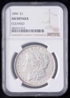 1896 Morgan Silver Dollar (NGC AU Details) at PristineAuction.com