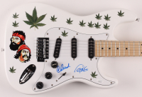 "Cheech Marin & Tommy Chong Signed 39"" Electric Guitar (JSA COA) at PristineAuction.com"