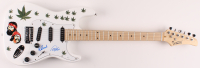 """Cheech Marin & Tommy Chong Signed 39"""" Electric Guitar (JSA COA) at PristineAuction.com"""