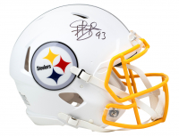 Troy Polamalu Signed Steelers Full-Size Authentic On-Field Matte White Speed Helmet (Beckett COA) at PristineAuction.com