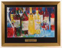 "Leroy Neiman ""The Wines of Bordeaux"" 16.5x22 Custom Framed Print Display at PristineAuction.com"