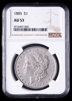 1885 Morgan Silver Dollar (NGC AU53) at PristineAuction.com