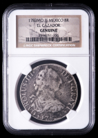 1783-MO FF Spanish Colonial 8 Reales Silver Shipwreck Coin from the El Cazador (NGC Encapsulated) at PristineAuction.com