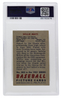 Willie Mays 1951 Bowman #305 RC (PSA 5.5) at PristineAuction.com