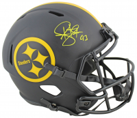 Troy Polamalu Signed Steelers Full-Size Eclipse Alternate Speed Helmet (Beckett COA) at PristineAuction.com