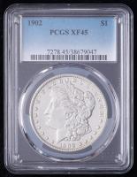 1902 Morgan Silver Dollar (PCGS XF45) at PristineAuction.com