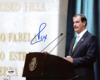 Vicente Fox Signed 8x10 Photo (PSA COA) at PristineAuction.com