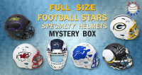 Schwartz Sports Football Superstar Signed Full Size Specialty Helmet Mystery Box – Series 3 (Limited to 50) at PristineAuction.com