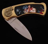 Elvis Presley Stainless Steel Pocketknife at PristineAuction.com